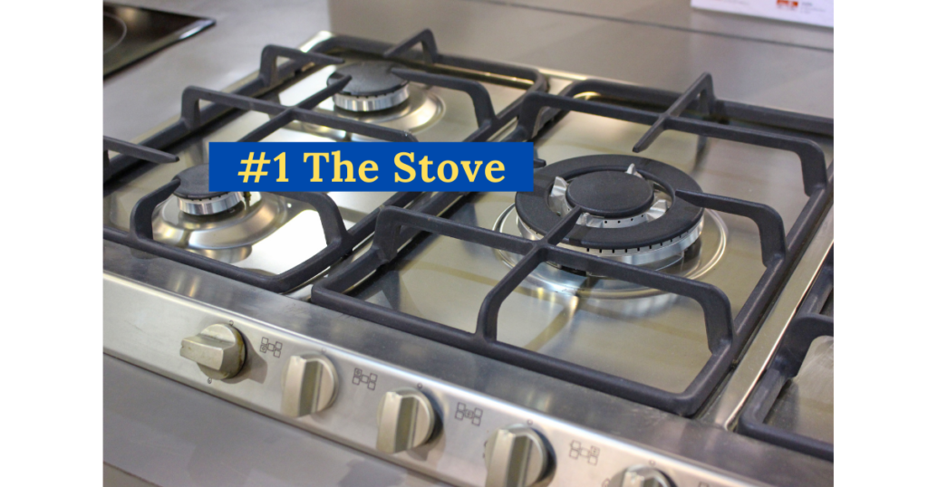 the stove is require for cooking