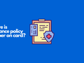 where is insurance policy number on card